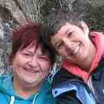Karen Ball and Erin Taylor young