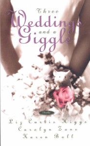 Three Weddings and a Giggle Book Cover