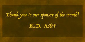 KD Aster Sponsor of the Month Write from the Deep Podcast