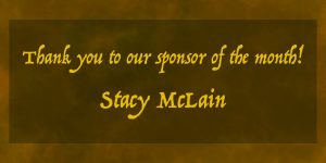 Sponsor of the Month Stacy McLain